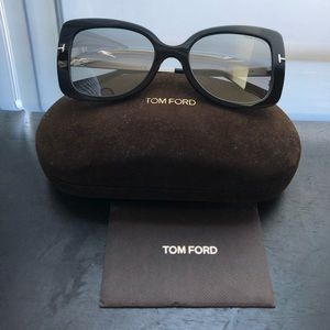 """Tom Ford """"Gianna"""" Sunglasses with Hard Case"""